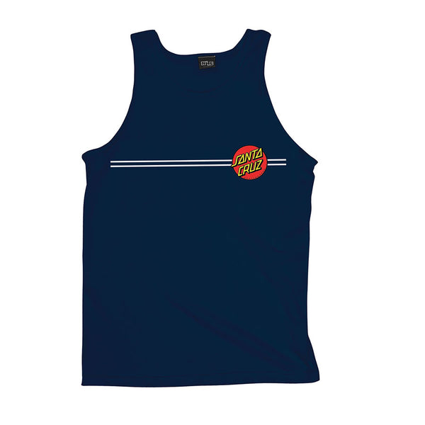 Santa Cruz Classic Dot Regular Fit Tank Top Navy