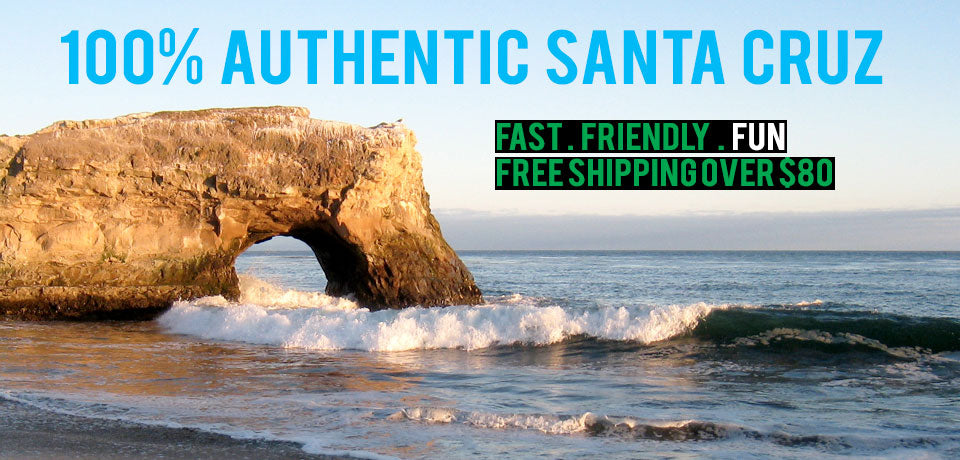 100% Authentic Santa Cruz