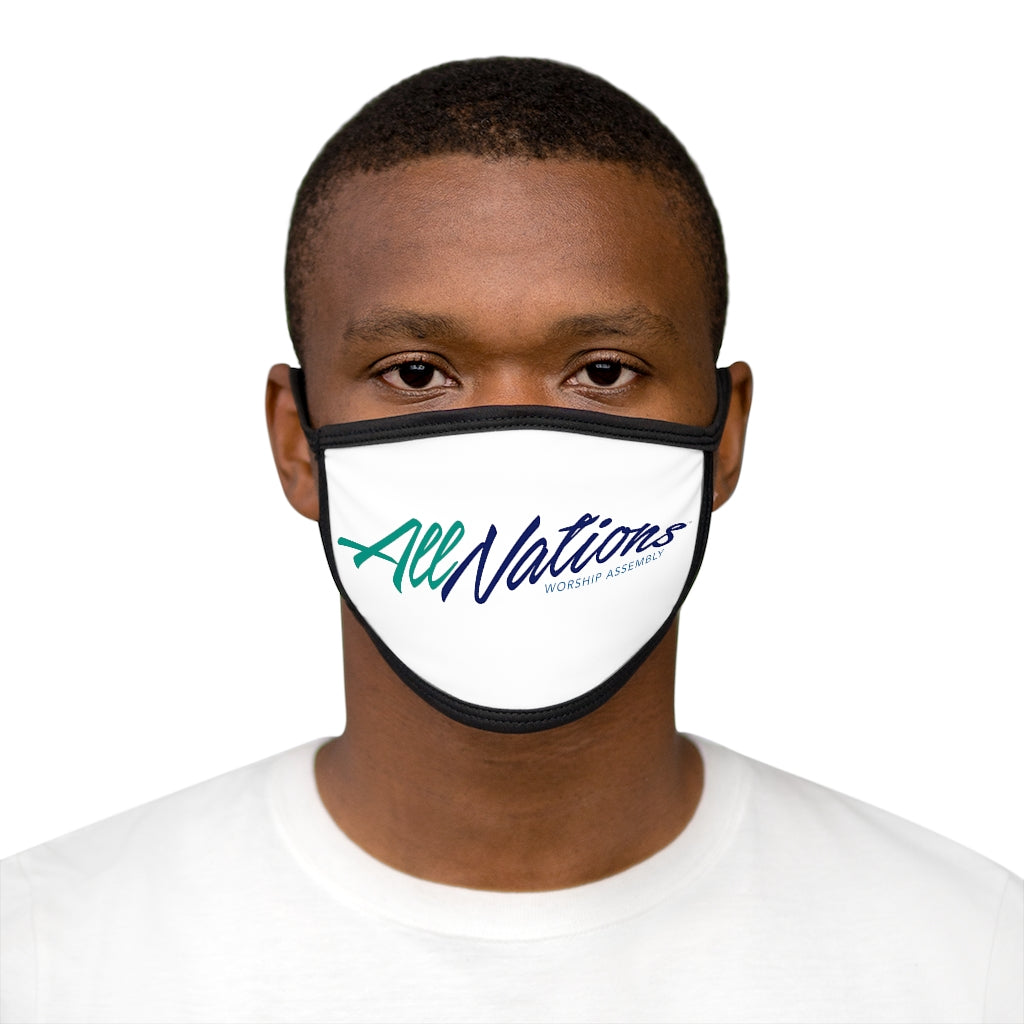All Nations Mixed-Fabric Face Mask