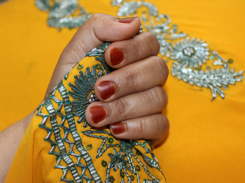 Henna paste for nails.All natural nail polish,Toronto henna