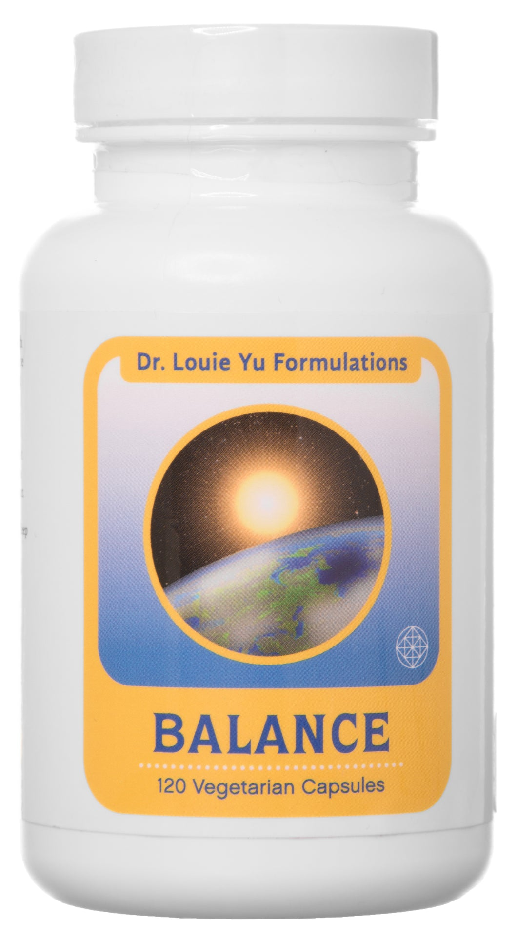 Dr. Louie Yu Formulations Balance All-Natural Relief for Symptoms of Irritable Bowel Syndrome (IBS) Including Bloating, Constipation, Gas, Diarrhea | Supports Digestive Health | 120 Veg Capsules