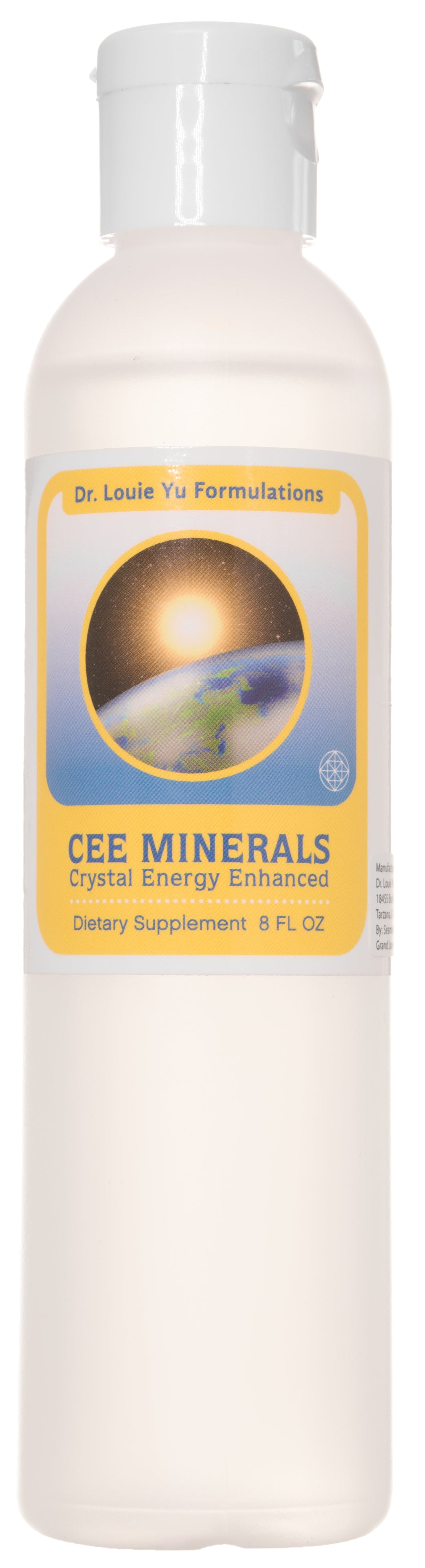 Dr. Louie Yu Formulations CEE Minerals Crystal Energy Enhanced | NO Calories NO Sugar | Magnesium, Potassium, Sulphur & Silica