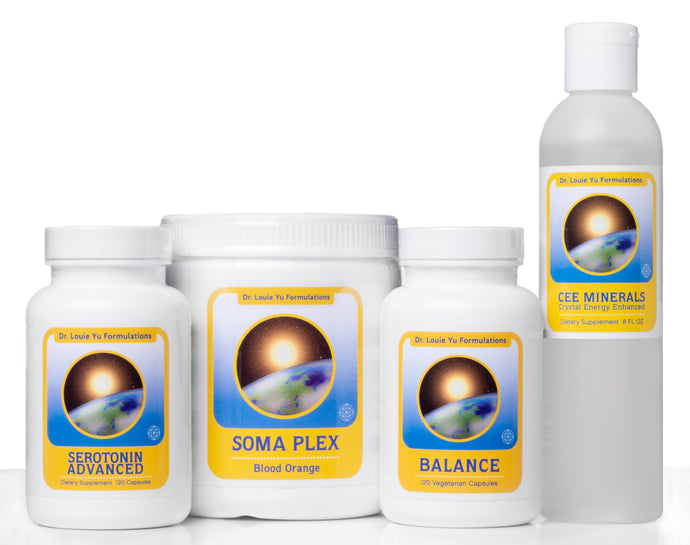 Dr. Louie Yu Formulations Happy Mind and Gut Package