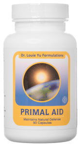 Dr. Louie Yu Formulations Primal Aid Immune System Booster Supplement 90 Veg Capsules
