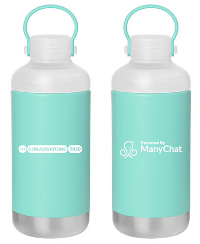 Conversations 2020 Water Bottle