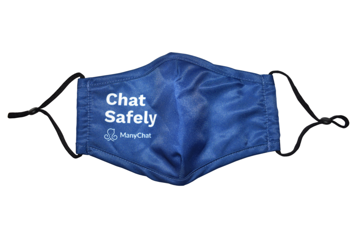 ManyChat Adjustable Face Mask