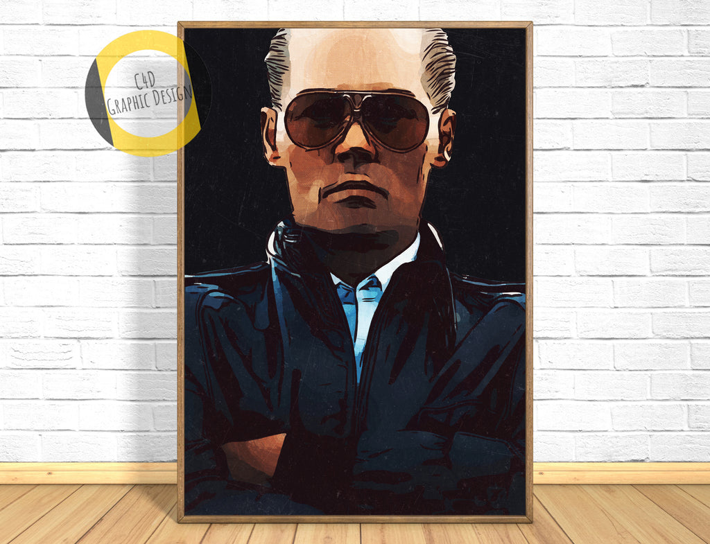 Black Mass Poster,Black Mass Print,Black Mass Movie,Wall Art Giclee Print,Instant Download,Digital Print,Home Decor Wall Art,Painting