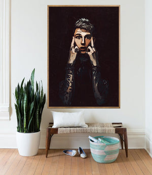 Machine Gun Kelly Poster,Machine Gun Kelly Print,Machine Gun Kelly Home Decor,Machine Gun Kelly Giclee Print,Music Poster,Instant Download