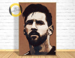 Lionel Messi Poster,Lionel Messi Room Art,Soccer Fan Gift,Football Art Decor,Lionel Messi Picture,Barcelona Poster,Barcelona Fan Gift,Painting
