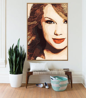 Taylor Swift Poster,Taylor Swift Print,Taylor Swift Artwork,Taylor Swift Giclee Print,Music Poster,Instant Download,Pop Culture,Painting