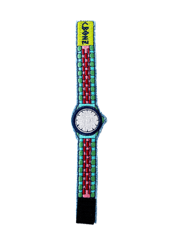 "Customizable Embroidered ""Watch"" Bracelet"
