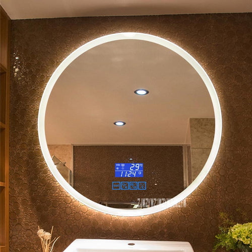 Mirrorizer - Smart Mirror Wall-mounted LED Bathroom - Round