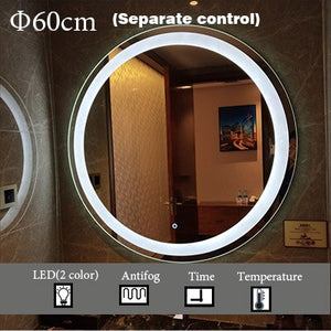 Mirrorizer - Smart Mirror Round Vanity Bathroom Mirror