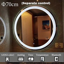 Load image into Gallery viewer, Mirrorizer - Smart Mirror Round Vanity Bathroom Mirror