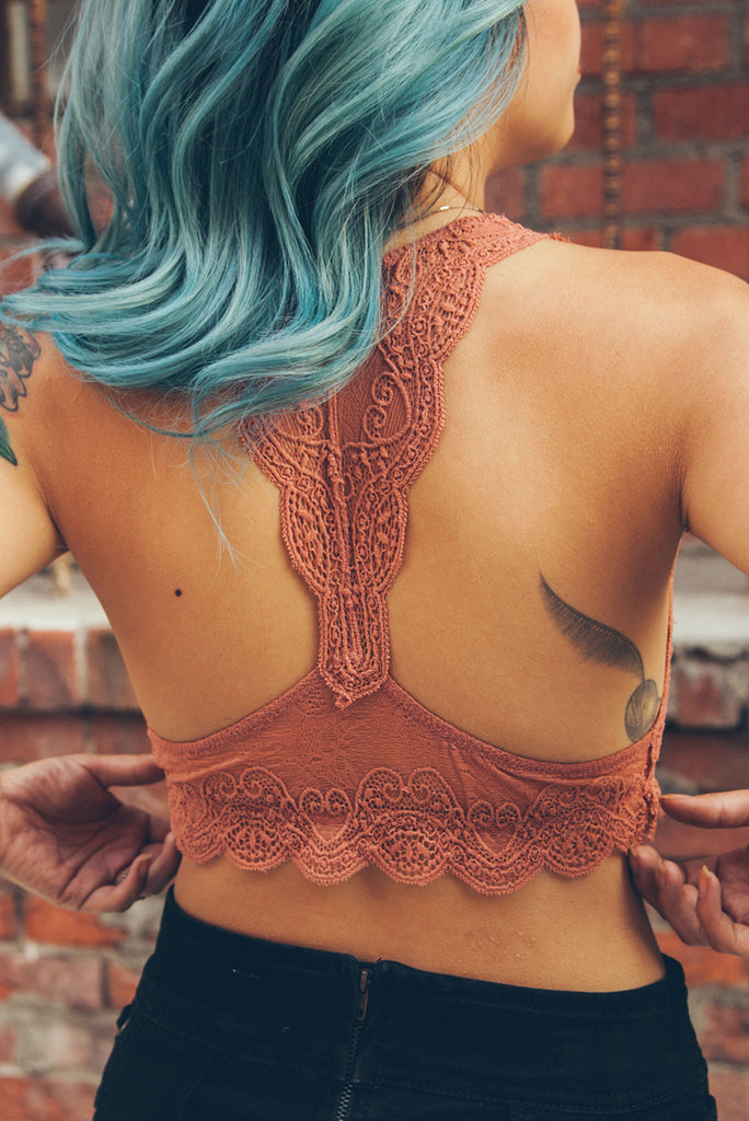 Ginger Lady Lace Bralette