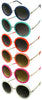 Merry Go Round Sunglasses- Navy, Mint, Red, Peach, Pink, White