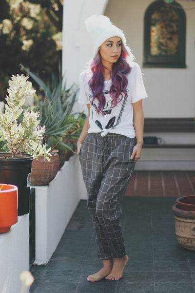Nerdy Gridline Trousers