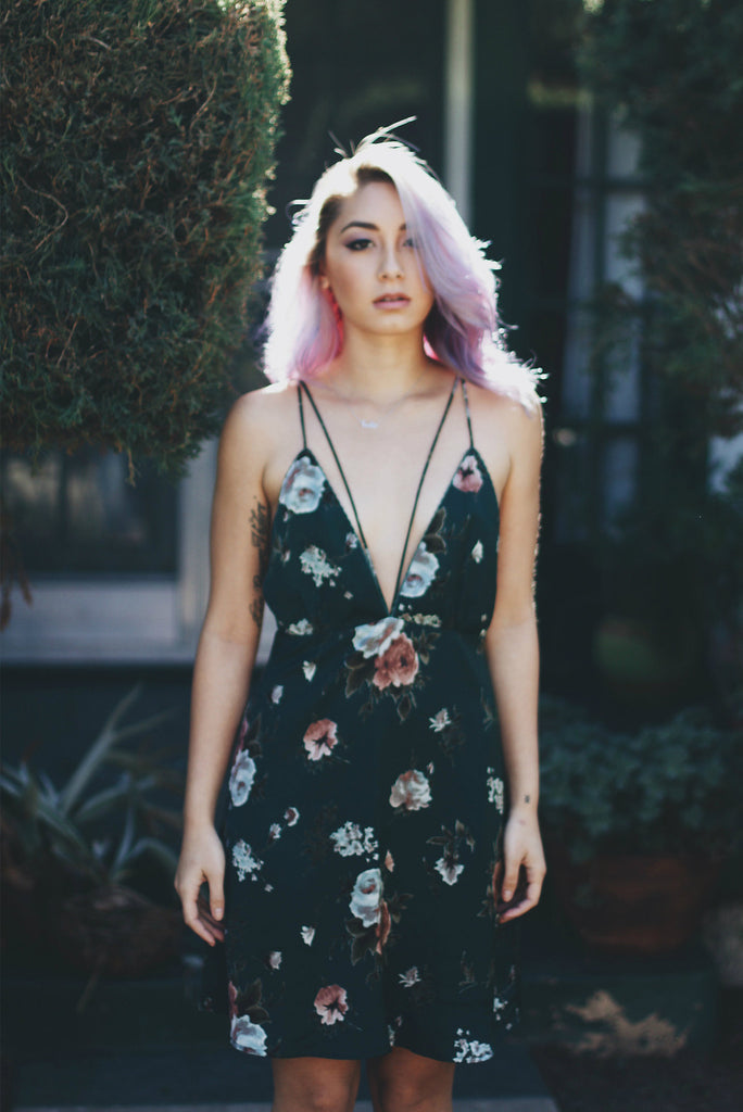 Rose Garden Slip Dress