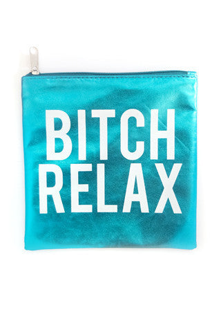 Married To The Mob Relax Pouch - Blue