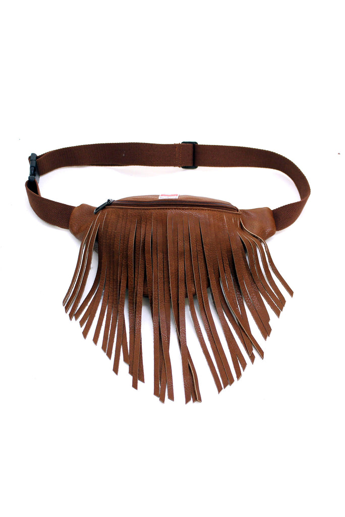 Love And Leather Fringe Hip Pack