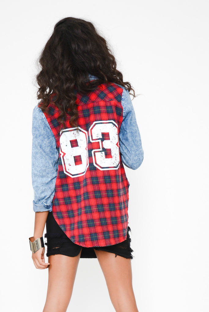 Plaid About You Chambray