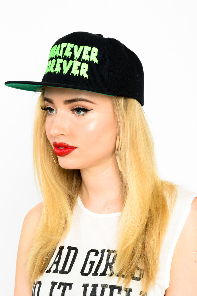 United Couture Whatever Forever Snapback - Black