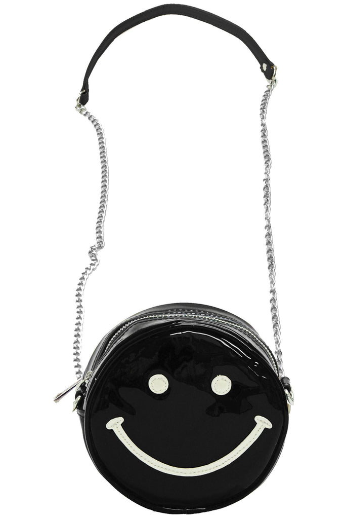 Happy Daze Crossbody Bag - Black