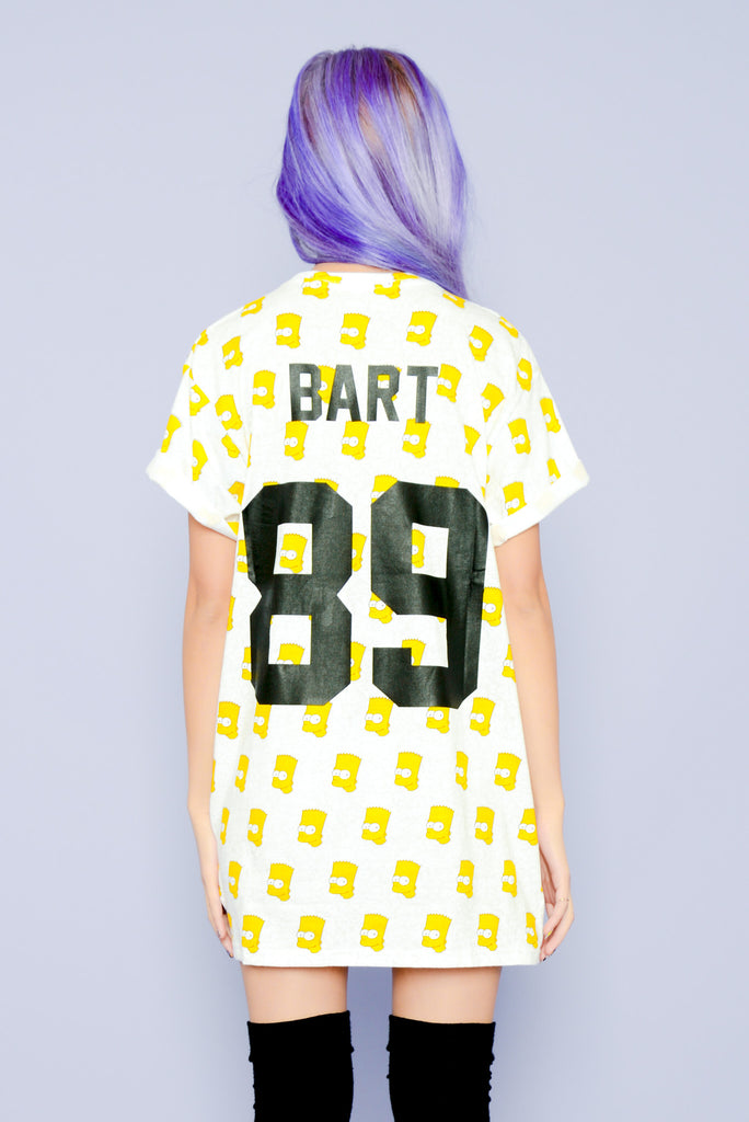 Eleven Paris Badass Bart Simpson Tee - White