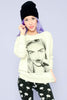 Eleven Paris Model Mode Crewneck Sweater - Grey