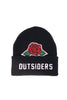 Petals and Peacocks Outsiders Rose Beanie