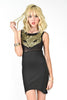 Foxy Sequins Dress - Black