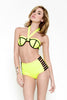 Scuba Colorblock Bikini Set - Yellow