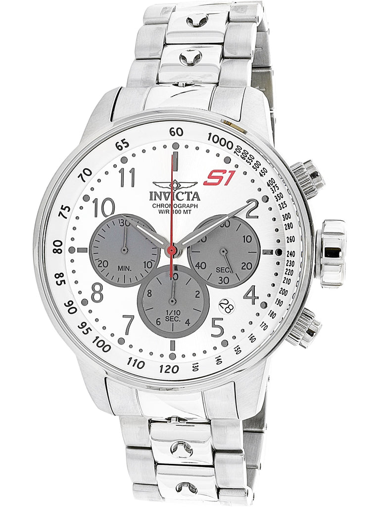 Invicta Men's S1 Rally Silver Stainless-Steel Quartz Dress Watch