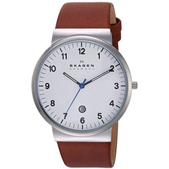 Men's Skagen Ancher Quartz Stainless Steel Watch