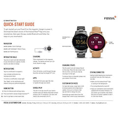 Fossil Men's Gen 4 Explorist HR Stainless Steel Smartwatch