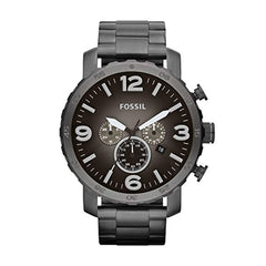 Men's Fossil Quartz Gunmetal Stainless Steel Watch