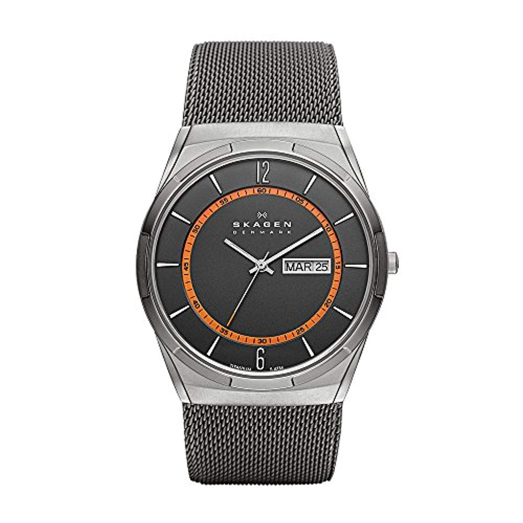 Men's Skagen Melbye Quartz Titanium Watch