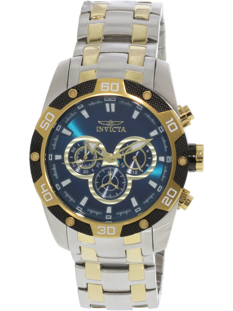 Invicta Men's Speedway Silver Stainless-Steel Chronograph Fashion Watch