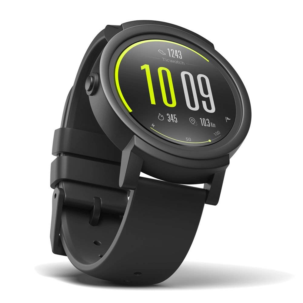Comfortable Ticwatch E Smartwatch W/ OLED Display