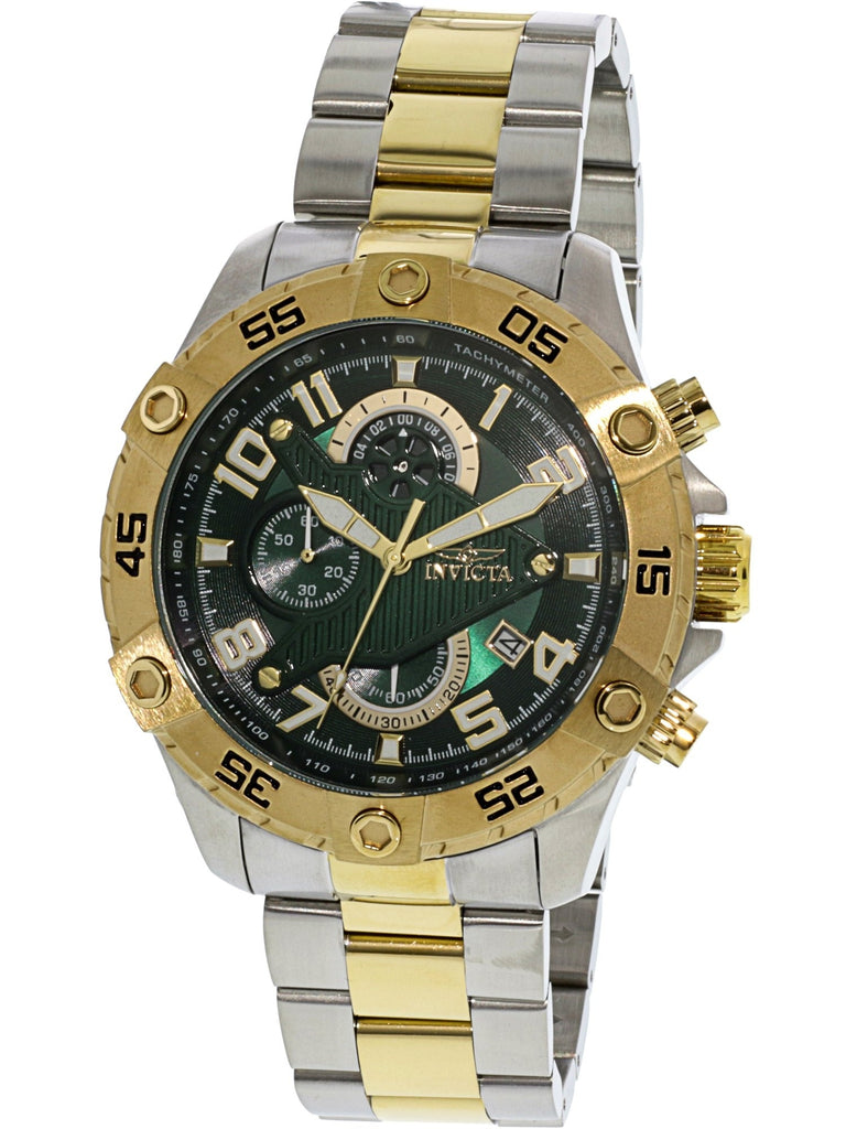 Invicta Men's Rally Silver Stainless-Steel Chronograph Fashion Watch