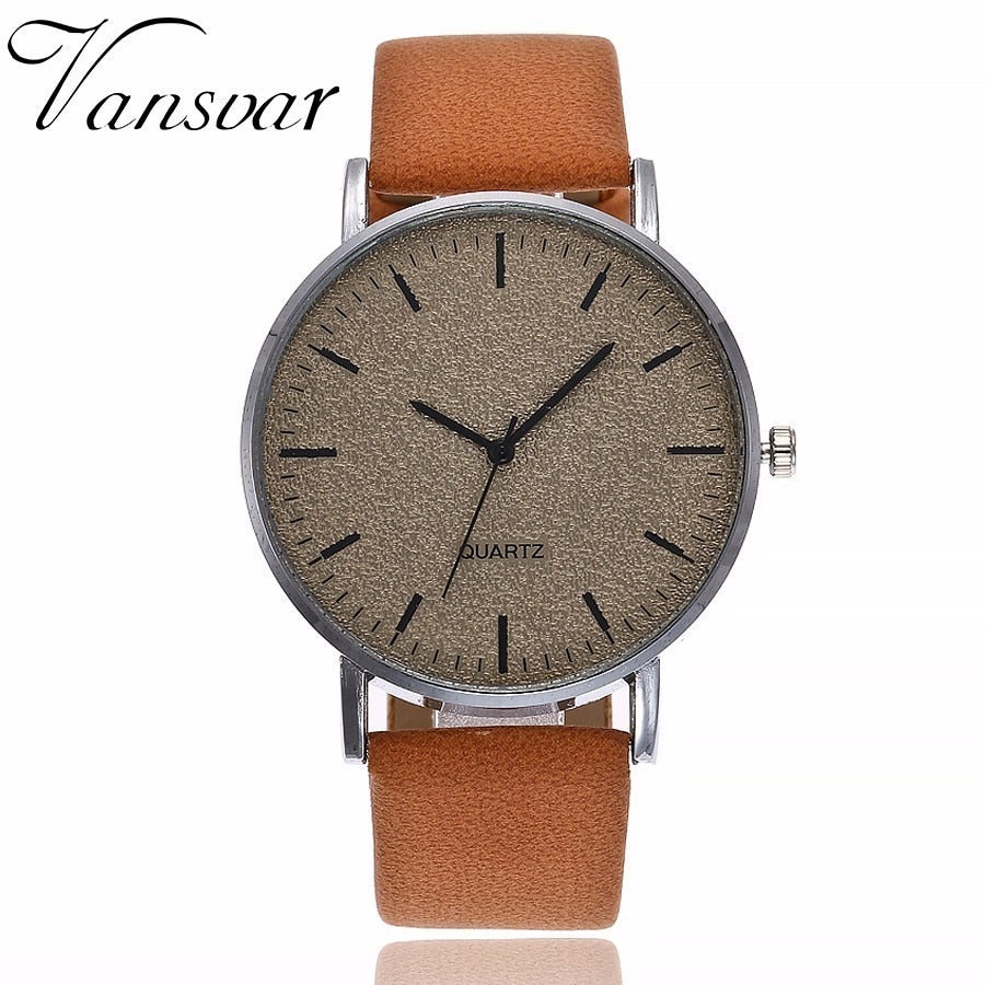 Best Selling Women's Fashion Leather Quartz Analog Watch