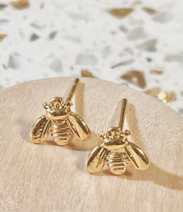 Mini Queen Bee Studs