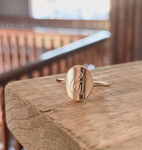 """Let me be"" Ring"