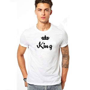 bd5dbbf28d EnjoytheSpirit His Queen Her King Shirts Matching Tshirts King and Queen  Tshirts Couple T-Shirts