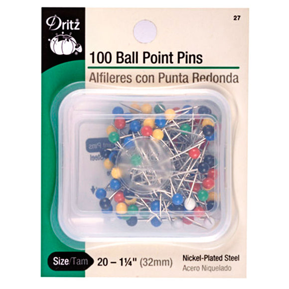 Dritz Ball Point Pins 1 1/4
