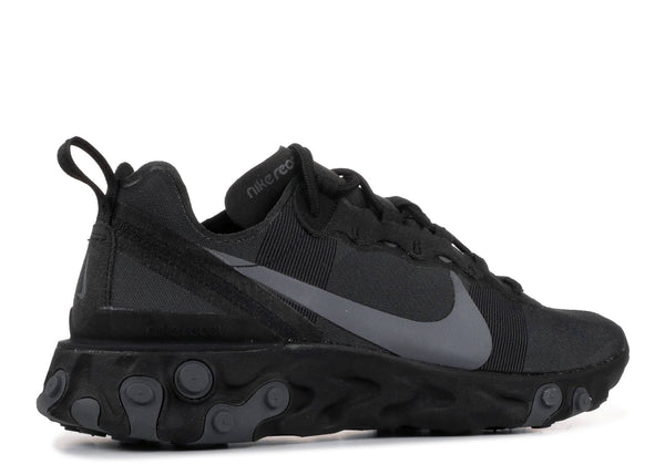 Nike React Element 55 'Triple Black'