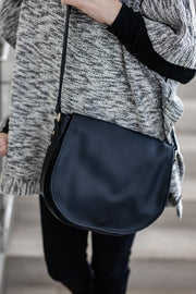 Black Muoy Crossbody Bag