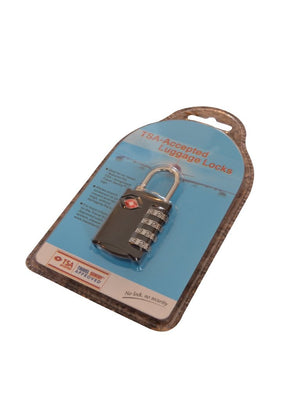 Razbag TSA security 4 digit combination lock -  Keeping Medications Locked and Secure
