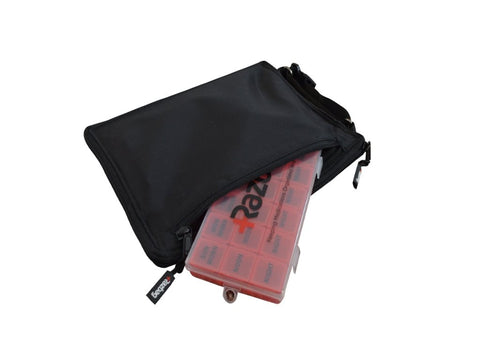 Image of Razbag Traveler bag with Free pillbox organizer
