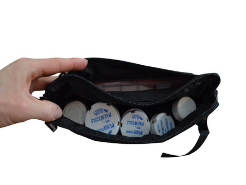 Image of Razbag Traveler small medication bag inside view